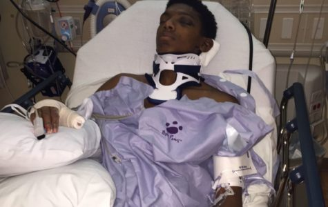 Future Texan's football dreams nearly derailed by car accident