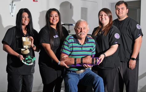 Tarleton student creates orthotic for stroke victim