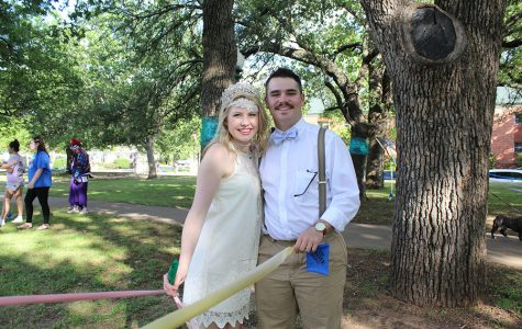 Lord and Lady Tarleton crowned at Tuesday's May Fete ceremony