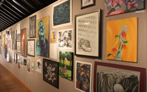 Tarleton's student artists featured in gallery