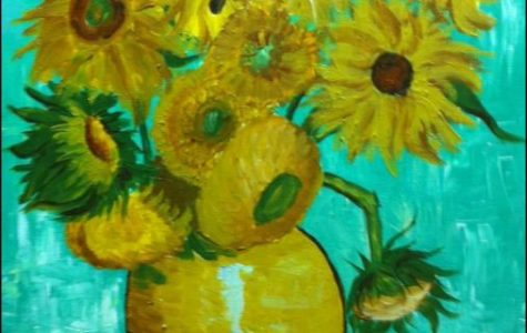 "The Cross Timbers Fine Arts Council's ""Paint the Town"" class kicks off with libations and Van Gogh"