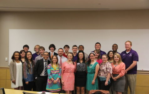 SGA President, Vice President, senators inducted into new positions