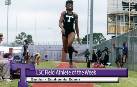 Athlete Spotlight: Lone Star Conference Field athlete of the week Euphemia Edem