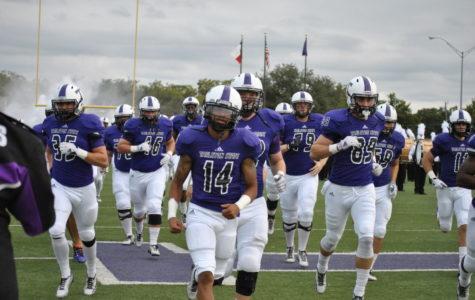 Texan football playing through adversity