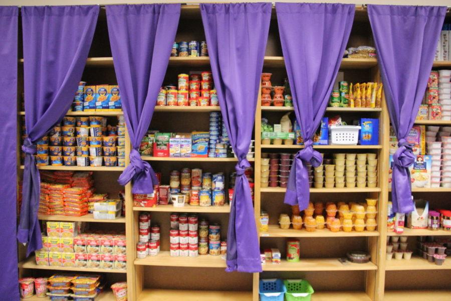 Students in need of food may stop by the fully-stocked pantry between 1 and 6 p.m. Monday through Friday.