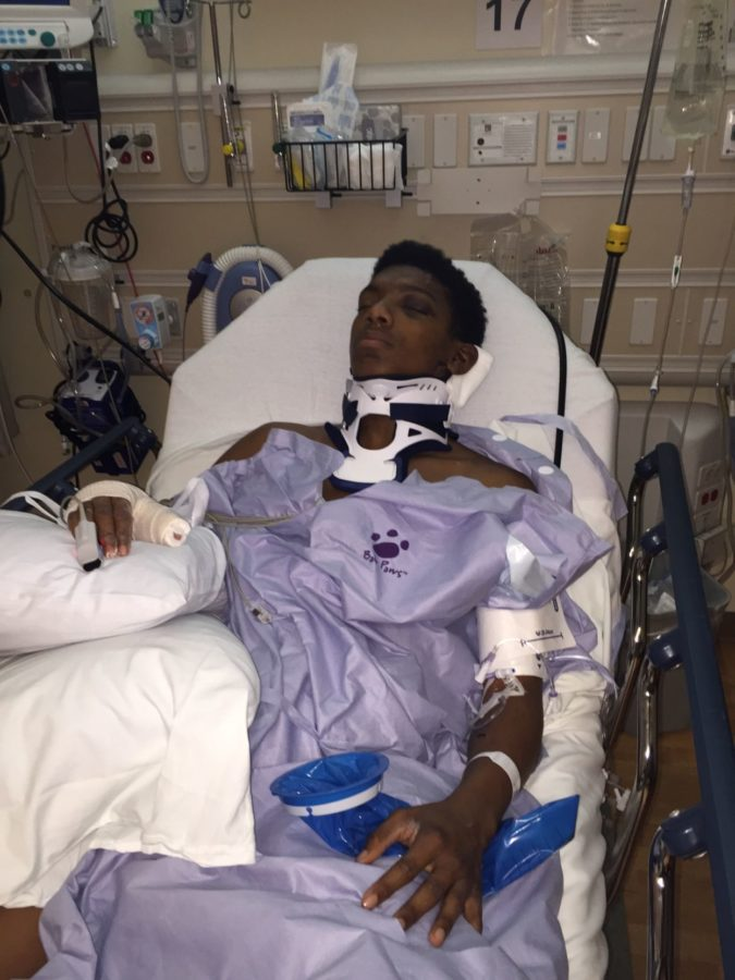 Norris faced a long recovery process following a devastating car wreck just days before he was set to sign on to play football for Tarleton.