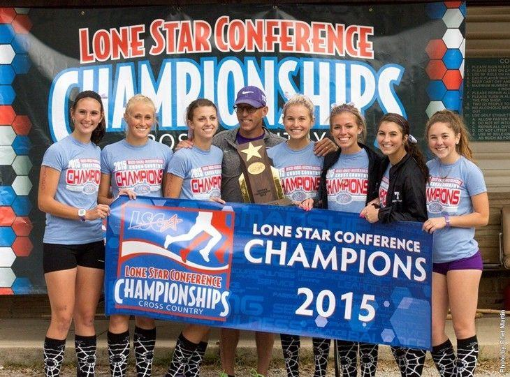The TexAnns after winning the LSC championship.