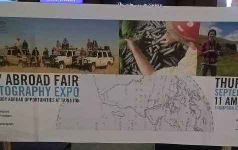 Study Abroad hosting expo for prospective students