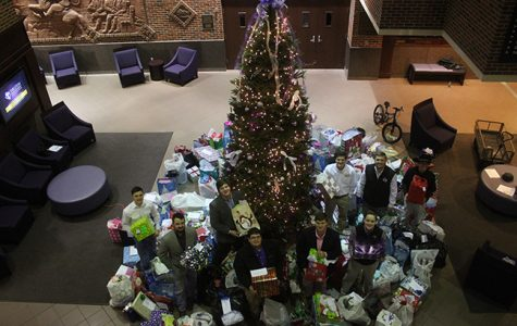Alpha Gamma Rho and Student Engagement host Angel Tree
