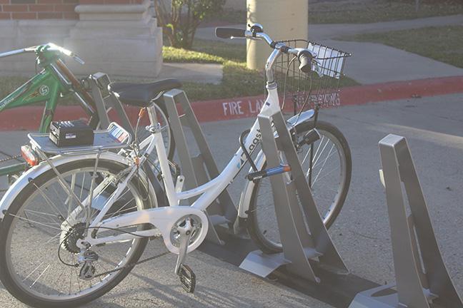 Zagster Bike on bike rack