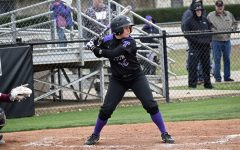 Kadyn Kirkpatrick bats against West Texas A&M.