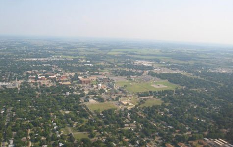 An ariel view of Tarleton State University in 2005.