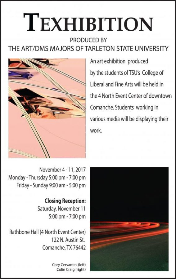Tarleton+Art+Society+presents+Texhibition+in+November