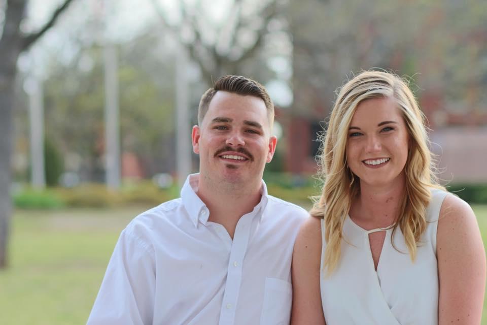 2018 Mr. and Mrs. TSU, Matt Hill and Ashley Armstrong