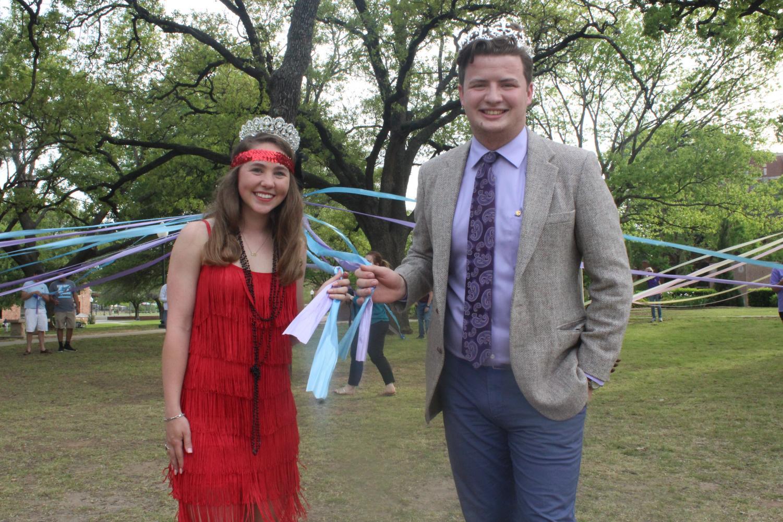 2018 Lord and Lady Tarleton, Joseph Kamin and Clare McNiel