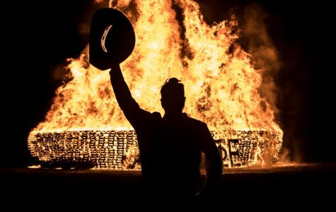 Homecoming: L.V. Risinger Bonfire