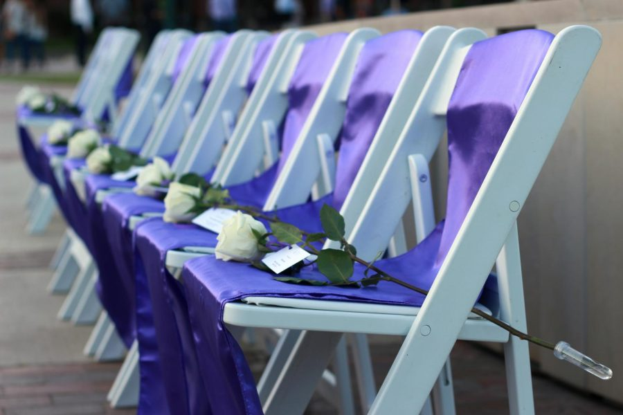 Chairs+remain+empty+at+Silver+Taps+to+honor+fallen+Tarleton+Family+members.