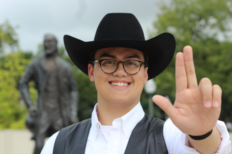 Elijah Perry Imbong is the new Texan Rider