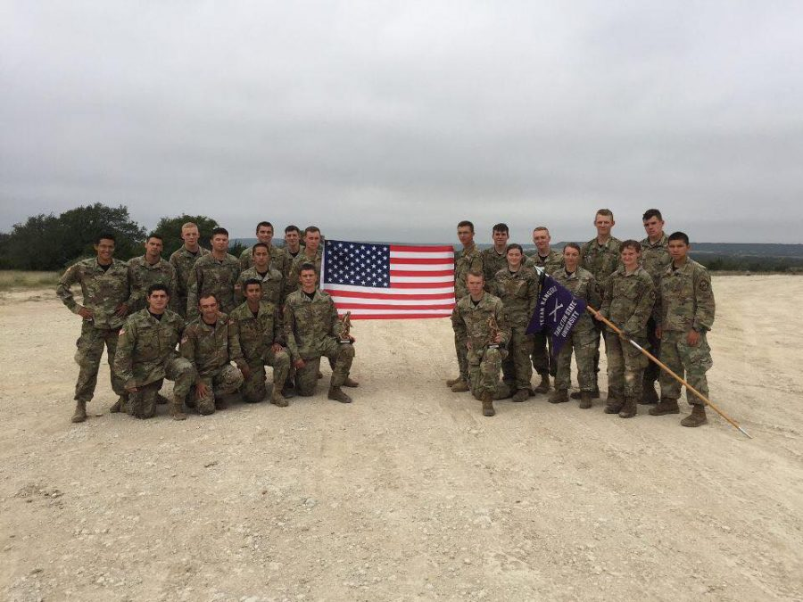 Tarleton ROTC marches over competition