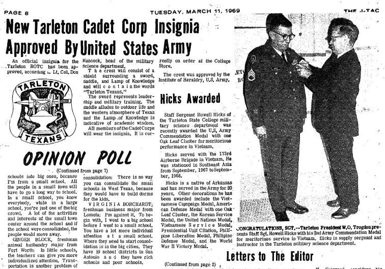 This is a screen grab of The JTAC March 11, 1969 issue.