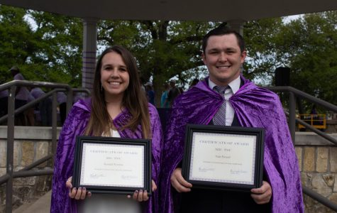 Powell and Kozney awarded 2019 Mr. and Ms. TSU