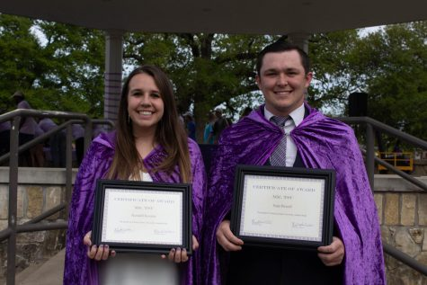 2018 Lord and Lady Tarleton, Joseph Kamin and Clare McNiel