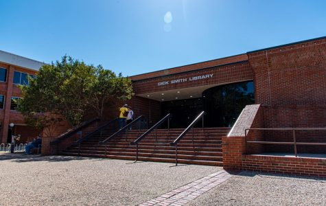 Dick Smith Library Hosts Banned Books Reading