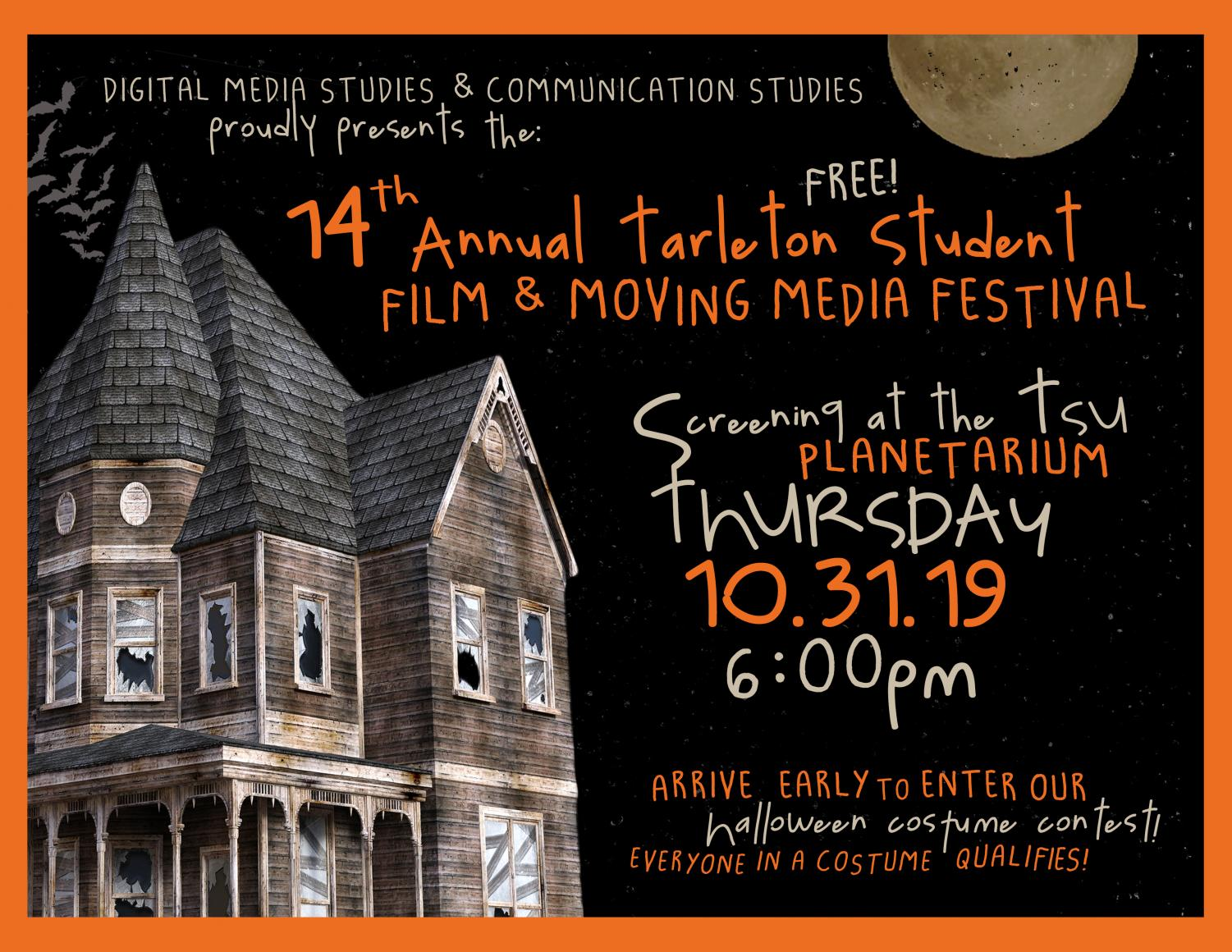 This film festival was held on the night of Halloween Oct. 31, 2019.