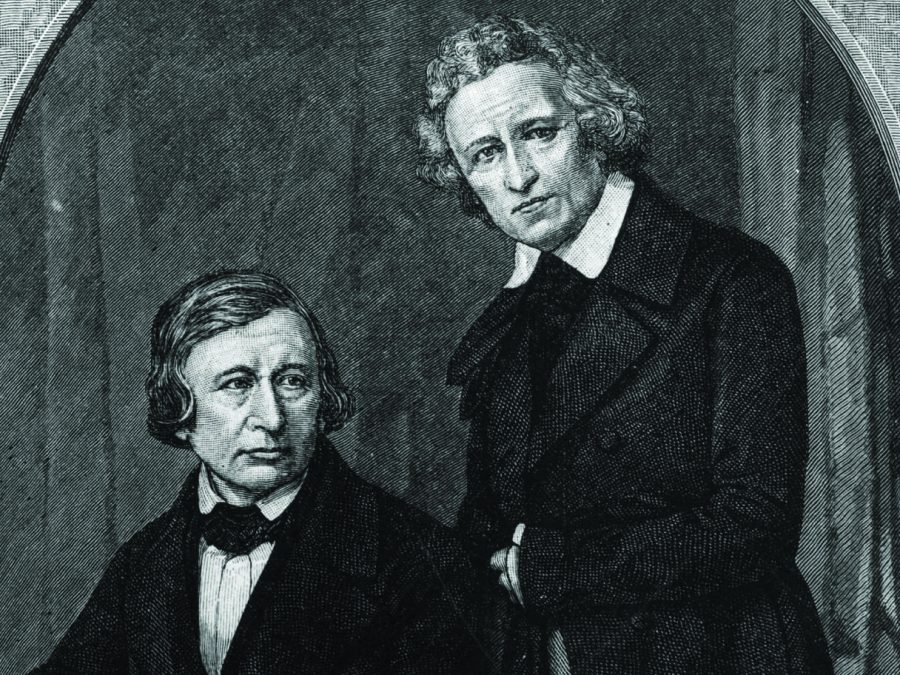 Jacob Ludwig Karl and Wilhelm Carl, collectively known as the Brothers Grimm, were responsible for many of the folklores published in the 19 century, many of which have been rewritten and told in today's time and age.