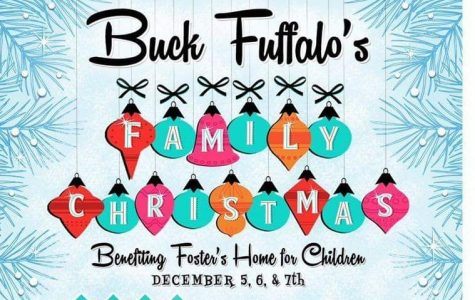 The Buck Fuffalo Family Christmas will be help Dec. 5, 6, 7 at Foster's Home for Children in Stephenville.