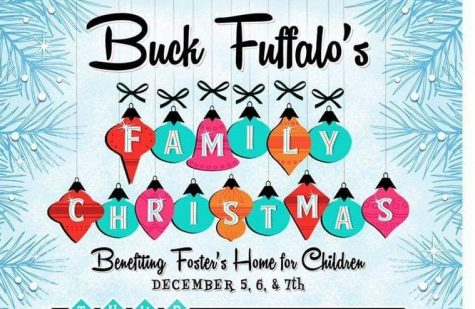The Buck Fuffalo Family Christmas will be help Dec. 5, 6, 7 at Foster