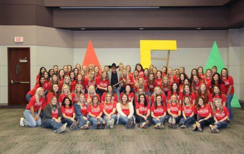 Alpha Gamma Delta raised over $9,700 in their annual Picnic Basket philanthropy event.