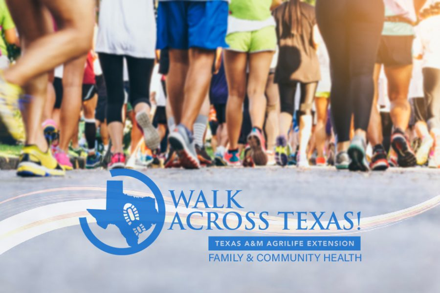 The  Walk Through Texas History is a part of the Howdy Health initiative of the Texas A&M AgriLife Extension's Family and Community Health program. The goal of the program is to encourage healthy eating and promote physical activity in various communities of Texas.