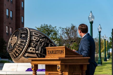 Tarleton State University memorializes class ring