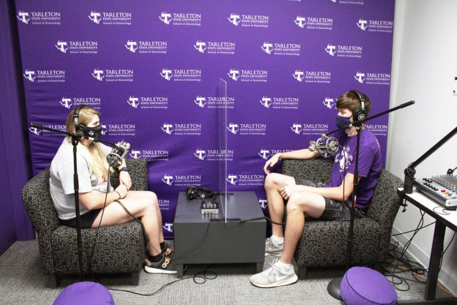 Kaity Burris and Lane Senn do a trial run of the Frontrunners Podcast.
