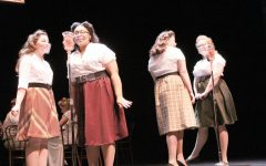 Cheyenne Nash, Jakayla Daniels, Cassie Jacobs and Sarah Anderson playing The Nash Sisters in Adventures of the Thin Man: The Case of the Goofy Groom.