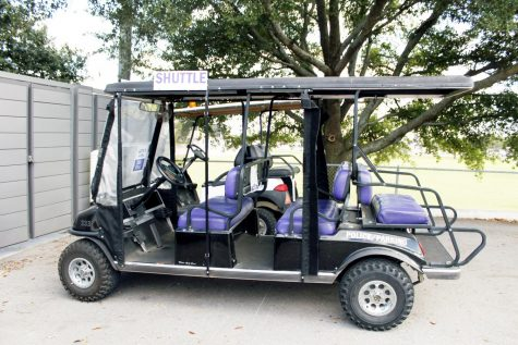 Tarleton's Police Department offers golf cart rides after 7 p.m. around campus through their TapRide app.