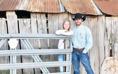Klaire Brock and Tyler Moore enjoyed a day of vineyard hopping last fall.