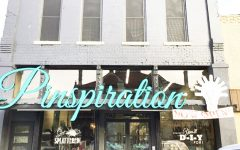 Pinspiration storefront which is located on 148 W. College St. on the square.