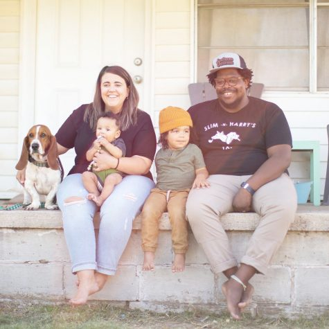 Pictured from left to right: Bill Murry, Heather Dawes, Silas Dawes, Finis Dawes and Jahmicah Dawes