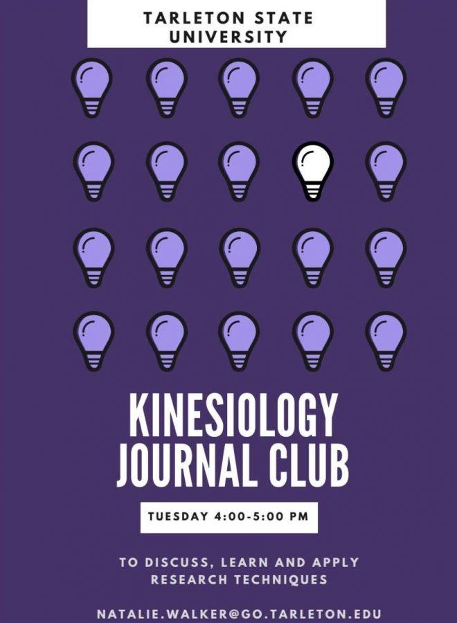 Tarleton's Kinesiology Journal Club