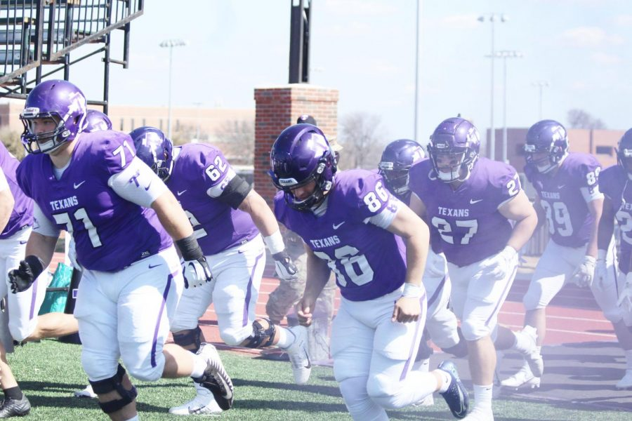 Tarleton+Texans+make+an+explosive+entrance+into+their+game+against+Mississippi+College.