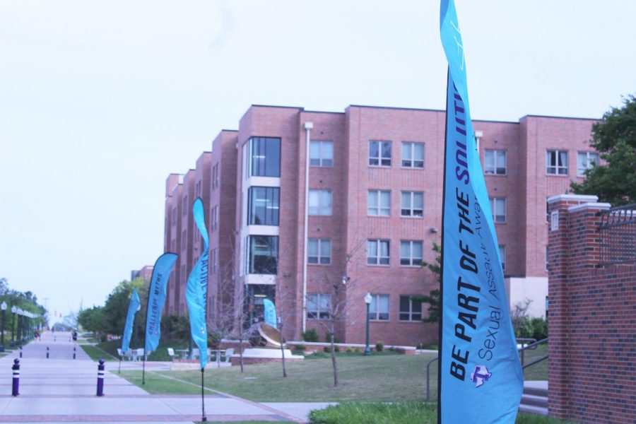 Teal+Tuesday+goes+beyond+free+blue+t-shirts+and+campus-wide+rallies.+Tarleton+has+shown+its+support+for+Teal+Tuesday+by+adding+colorful+banners+along+Rudder+Way+and+many+other+locations+on+campus.