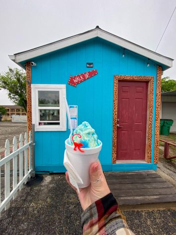 Funky Munky is located at 1355 W South Loop, Stephenville, TX. They are open every day from 1 p.m. to 7 p.m. for the summer.