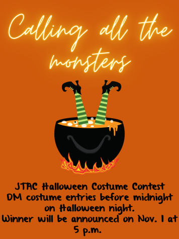 For more information about the costume contest, direct message @thejtac1919 on Instagram.