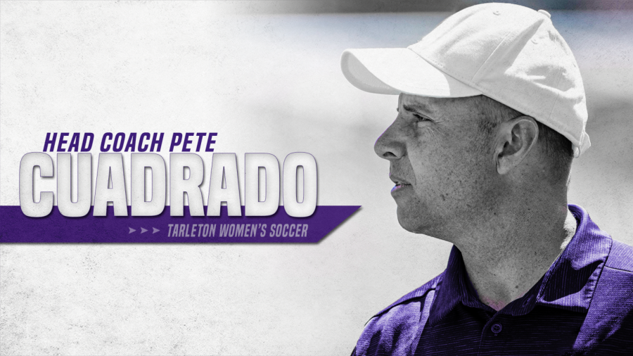 Pete Cuadrado, the first Womens Tarleton soccer coach.